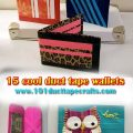 15 Cool Duct Tape Wallets
