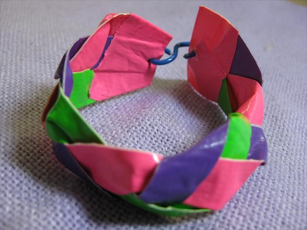DIY Braided Duct Tape Bracelet