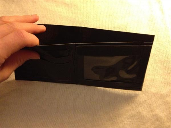 Black Duct Tape Wallet