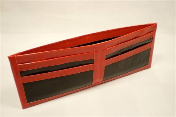 Red Duct Tape Wallet