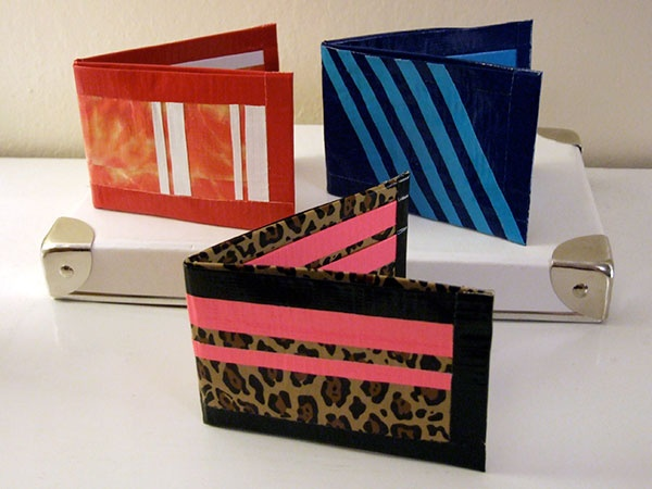 3 Nice Duct Tape Wallets