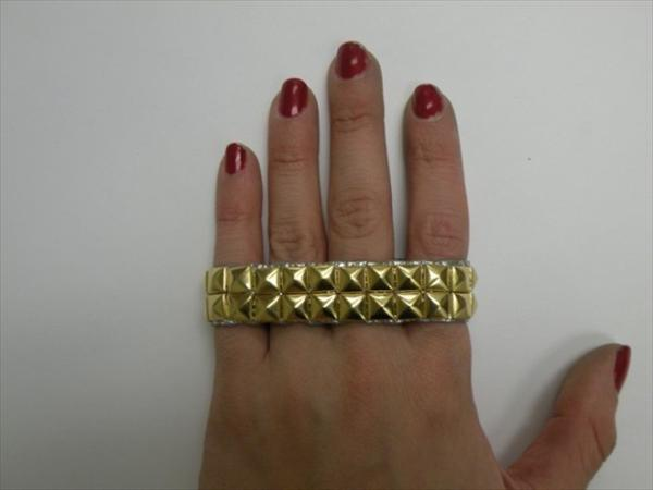 Studded Duct tape Bracelet