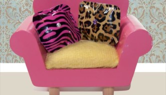 No Sew Duct Tape Barbie Pillows/Cushions