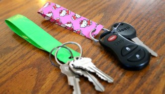 How To Make A Duct Tape Keychain