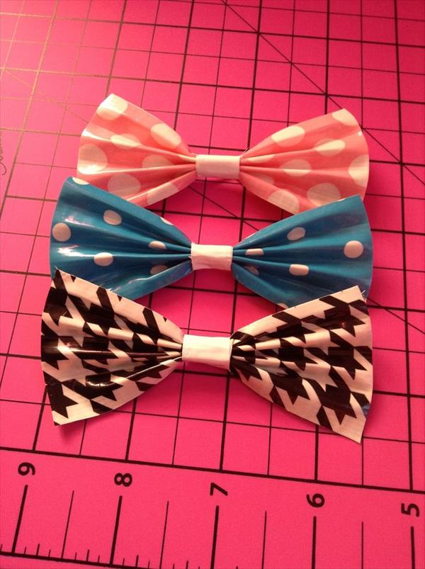 duct tape bows