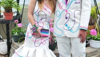 30 Cute Duct Tape Dress Ideas