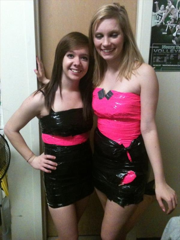 Duct Tape Dresses for girls