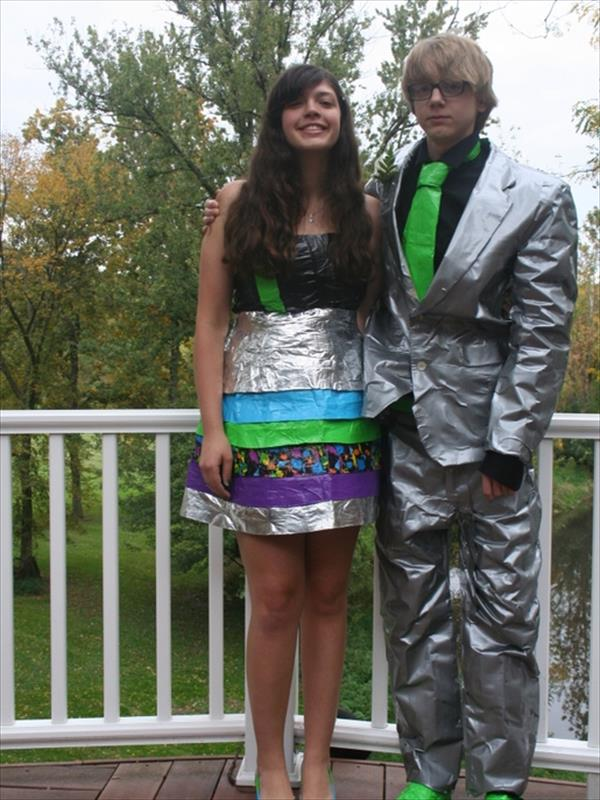Duct Tape Dress