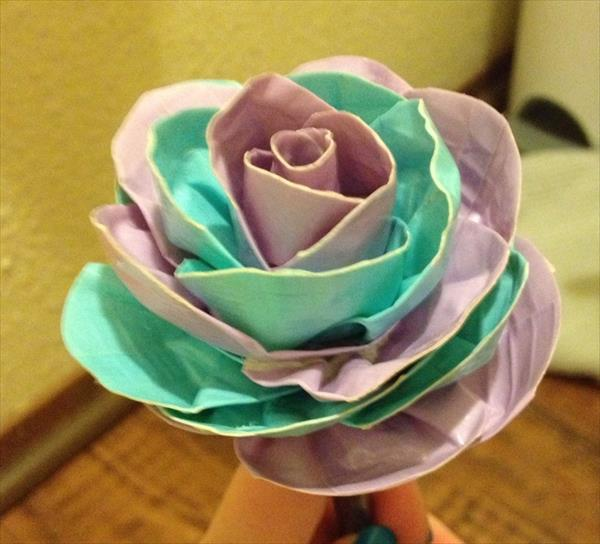 DIY Duct Tape Flowers