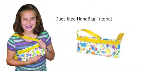 How to Make A Duct Tape Handbag
