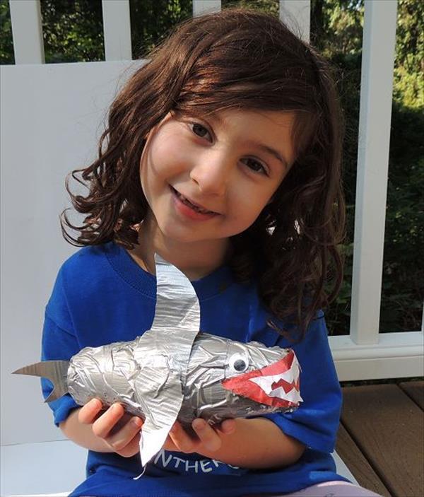 Paper Cup Shark