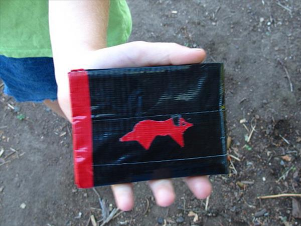 colorful Duct Tape Wallet