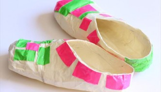 How to Make Duct Tape Slippers