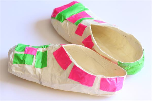 Duct Tape Slippers
