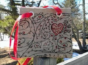 handmade duct tape purse