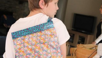 DIY Duct Tape Back Pack