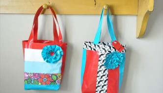 DIY Duct Tape Bag Tutorial