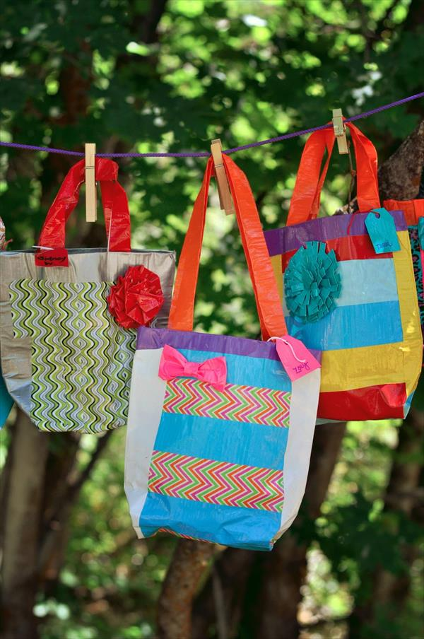 Diy duct tape girls camp crafts 101 duct tape crafts for Duct tape craft projects