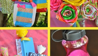 DIY Duct Tape Girls Camp Crafts