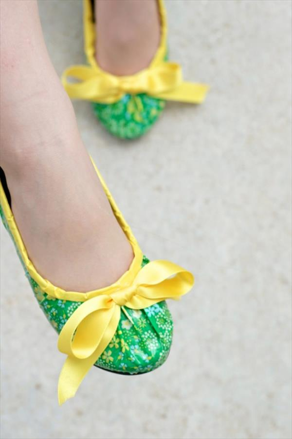 modified duct tape shoes