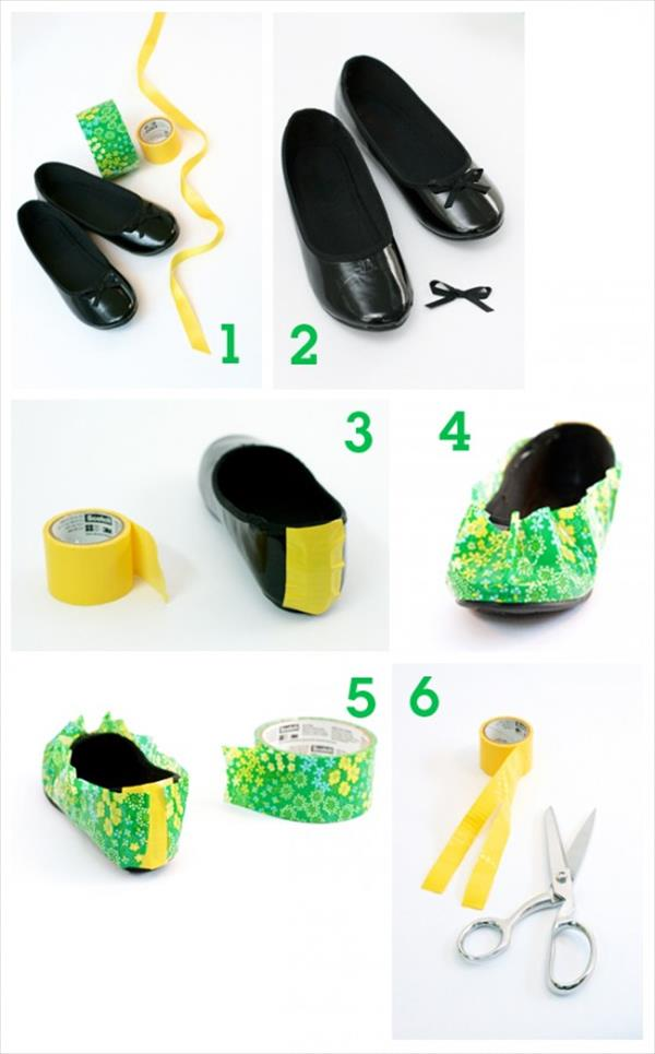 duct tap shoes instructions