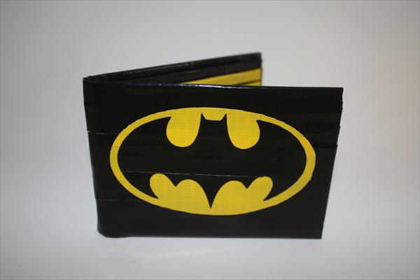 home produced duct tape wallet