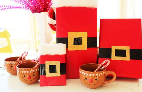 duct tape gift wrapping idea