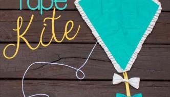 DIY Duct Tape Kite