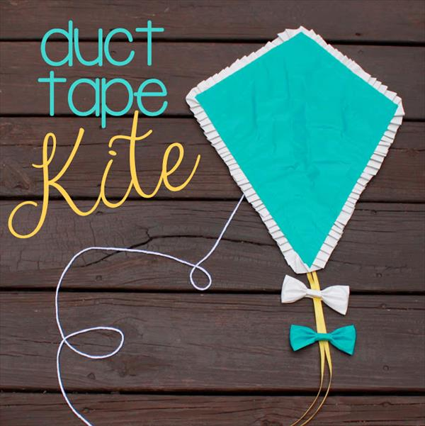 handmade duct tape kite