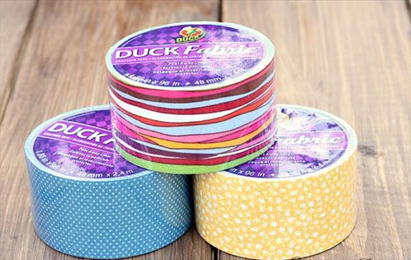 multiple color pairs of fabric tape
