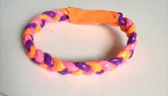 handmade duct tape bracelet