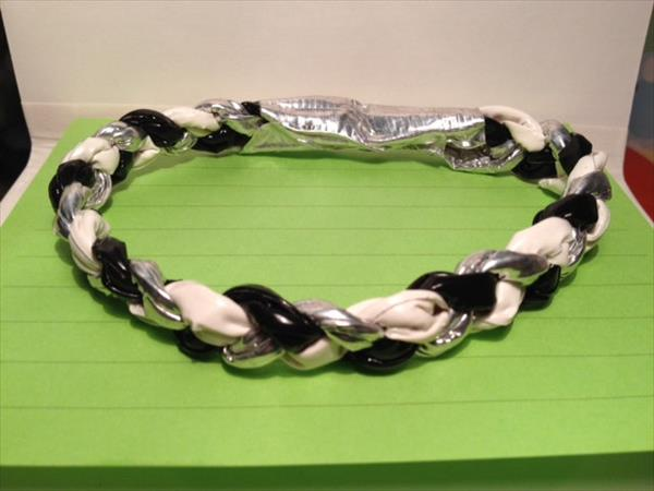 handcrafted duct tape bracelet