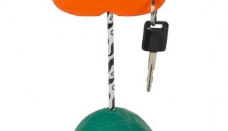 homely produced duct tape key holder