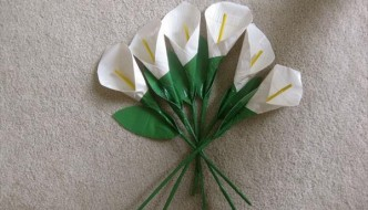 DIY Precious Duct Tape Calla Lillies