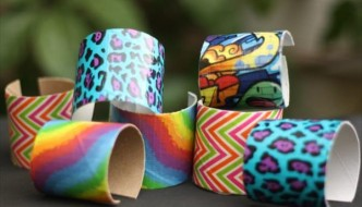 DIY Bracelets Fun with Duct tape