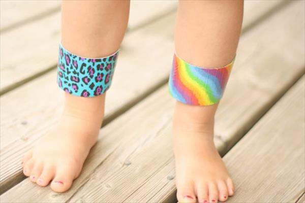 homely prepared duct tape bracelets