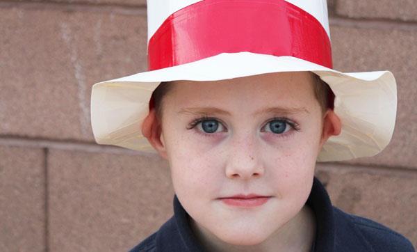 diy duct tape hat