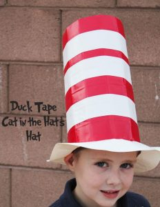 handmade duct tape hat