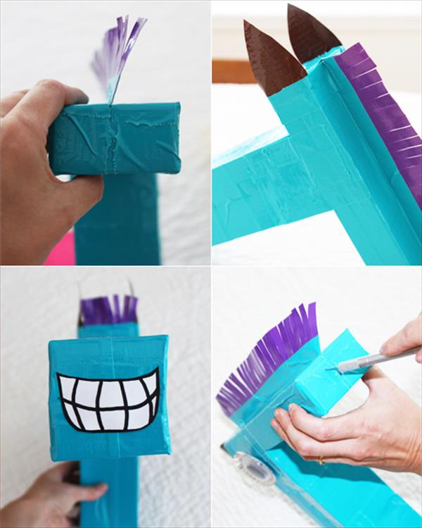 duct tape horse makeover