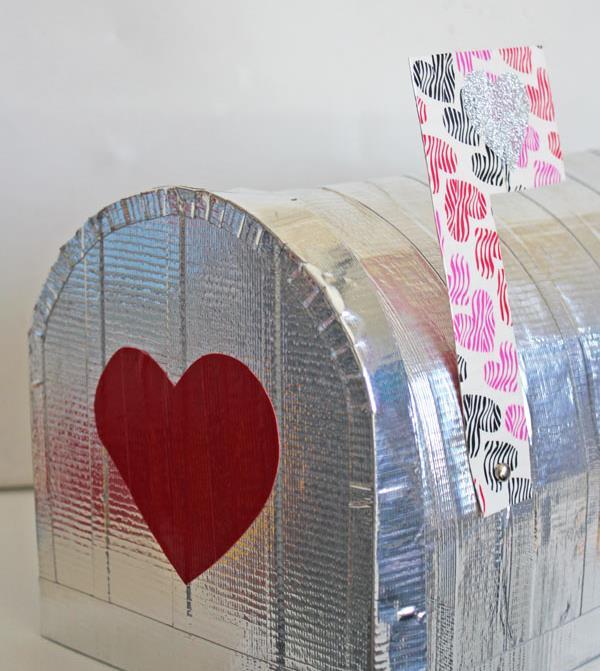handmade duct tape mailbox