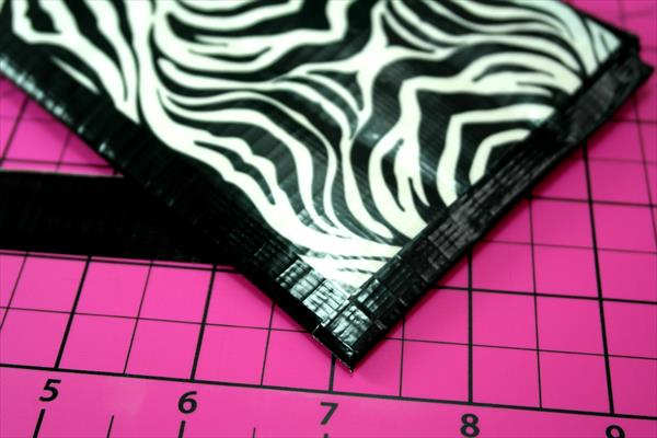 handmade duct tape pencil case