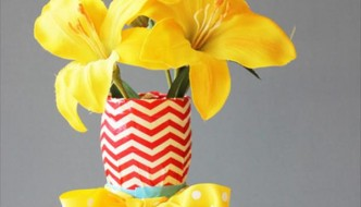 Easy Duct Tape Vase Project: DIY Tutorial