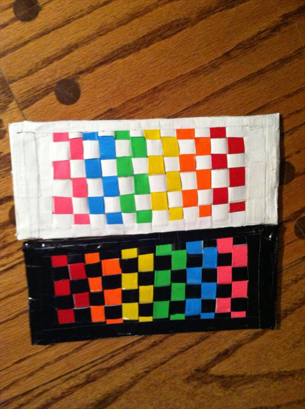 handmade duct tape wallet