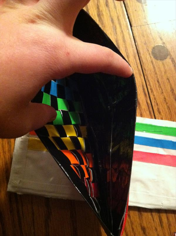 diy duct tape wallet