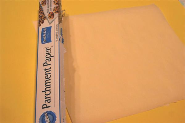 parchment paper for working space
