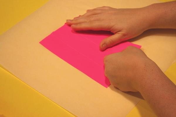 making a sheet of duct tape