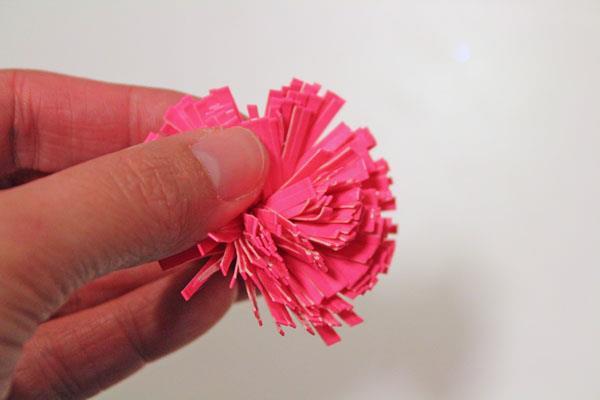 duct tape dandelion head