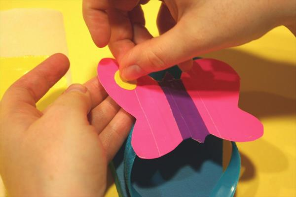 making of perfect butterfly wings