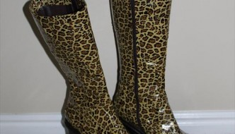 Duct Tape Cheetah Boots: DIY Tutorial