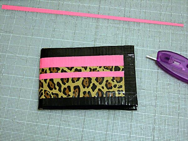 handmade diy duct tape wallet